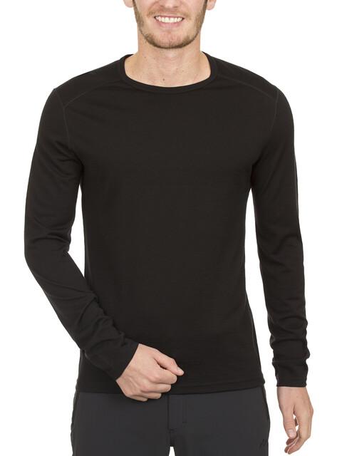 Camiseta interior Icebreaker Oasis negro para hombre